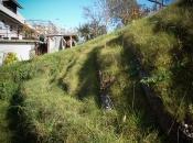 Stabilisierung von erosionsgefährdeter Erdmasse