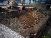 Sanierung einer Stützmauern