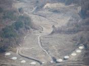 Schutz vor Erosionen und Erdlawinen (Slano blato)