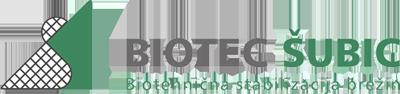 Biotec Šubic - Biotehnična stabilizacija brežin