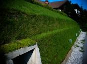 Menschen- und naturfreundliche Stützmauer
