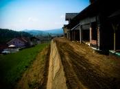 Öko-Bauweise von Stützmauern