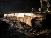 Öko-Bau einer Stützmauer ohne Fundament